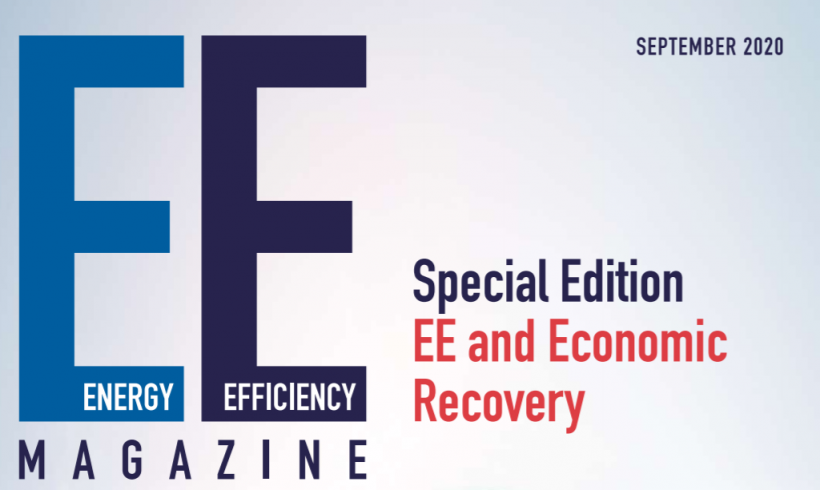 Introducing the Energy Efficiency Magazine: Special Edition on Economic Recovery
